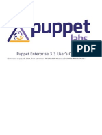 Puppets Usersguide