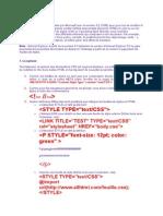 Internet - CSS.doc
