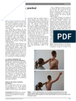 2013 Scapular Dyskinesis, Practical Applications