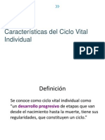 Caracteristicas Del CV Individual