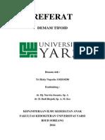 Referat Tifoid Anak (TRN)