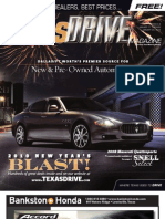 TexasDrive Magazine Jan.11-24, 2010 Issue