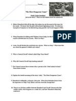 Most Dangerous Game Study Guide Questions Values