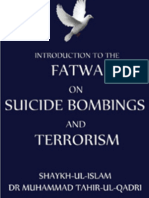 Fatwa on Terrorism and Suicide Bombings Shaykh-ul-Islam Dr Mombinuhammad Tahir-ul-Qadri