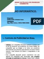 DERECHO INFORMÁTICO CONTRATO DE PUBLICIDAD EN LINEA..pptx