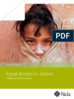 Equal Access to Justice a Mapping of Experiences
