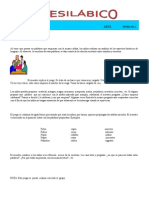 Fichas de Propuesta Lecto Escritura