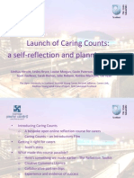 Launch of Caring Counts