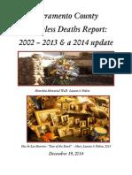 Homeless Deaths Report