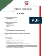 Declaración de Prestaciones Conplast SP337 Ed1