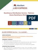 Allied Express Service Business Presentation June 2014 Revised (1)