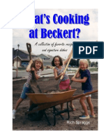 What's Cooking at Beckert?