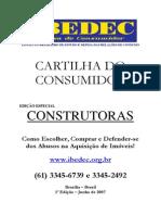 Cartilha Do Consumidor - 1 Ediyyo - Especial Construtoras - Internet -r