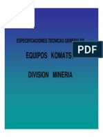 Equipos Komatsu-presentacion