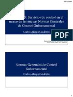 015 - Aliaga - Control - Servicios de Control en El Marco de Las NGCG - 20141217
