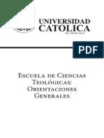 1-72-U. Cat. - Escuela de Ciencias Teologicas
