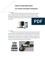 Peralatan Yang Diperlukan Untuk Akses Sistem Jaringan Komputer