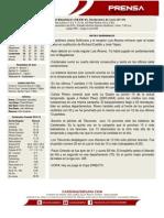 Boletin de Prensa 58 Magallanes - Cardenales