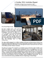 Friend Ships Activities Report October 2014