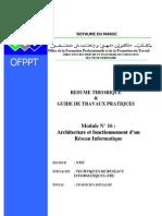 Module 17 Architecture Et Fonctionnement d'Un Réseau Informatique