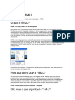 Tudo sobre HTML