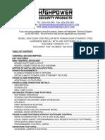 8000 Door Controller Hardware Manual 1.0.1