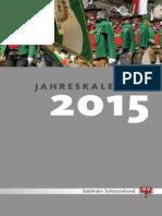 Jahreskalender 2015