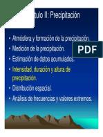 02b Hydrol Precipitación, intensidad, distribución, frecuencias (1).pdf