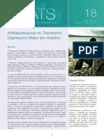 Nova abordagem dos antidepressivos
