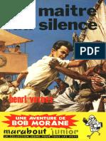 [Bob Morane-034]Le Maitre Du Silence(1959).French.ebook.alexandriZ