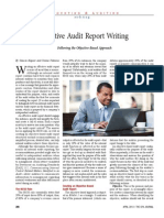 Effective Audit Report Writing CPA JOURNAL