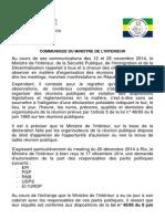 Communiqué MISPID Interdiction Meeting 20 Dec