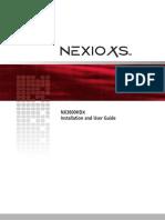 NEXIO_NX3600HDX_UserGuide