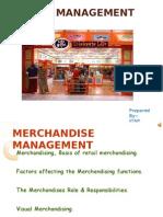 Merchandising concept