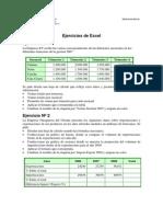 Ejercicios de Excel Segunda Parte