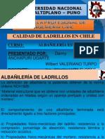 Calidad de Ladrillos en Chile