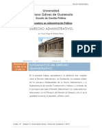 506 3 Fundamentos Del Derecho Administrativo Unidad 3