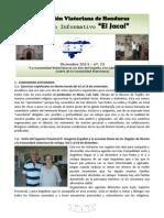 JACAL - Comunidad Viatoriana de Jutiapa (Honduras) - Nº 13 - Diciembre 2014