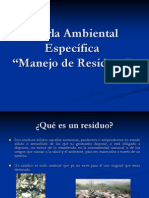 Charla Ambiental Residuos
