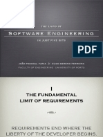 The Laws of Software Engineering in just Five Bits