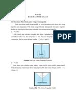 Laporan Praktikum Tangki Berpengaduk Bab III