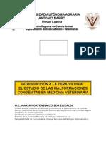 Introd. a La Teratologia