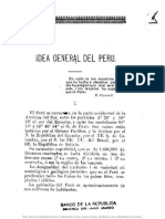 Carrey, A - Idea General Del Peru (1903)