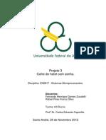 Relatório Proj 3 Cofre de Hotel Com Senha Sistemas Microprocessados Quad4.2