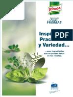 Recetario Finas Hierbas Knorr