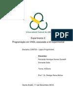 Relatório_Exp3_Programação Em VHDL Associada a Kit Experimental_Lógica Programável_Quad5.2