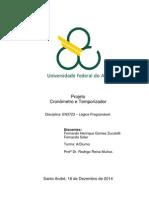 Relatório ExpProj Cronometro e Temporizador Lógica Programável Quad5.2
