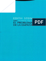 Stein Edith - Sobre El Problema de La Empatia