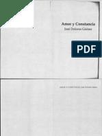 José Dolores Gamez - Amor y Constancia - Parte I