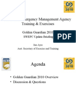 Golden Guardian 2010 (California Emergency Management Agency Training & Exercises)